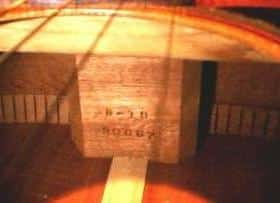 martin serial number